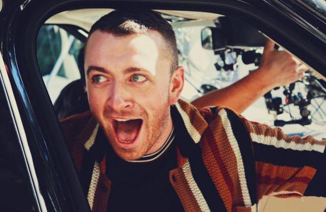 Sam Smith subió al Carpool Karaoke y se llevó la sorpresa de su vida