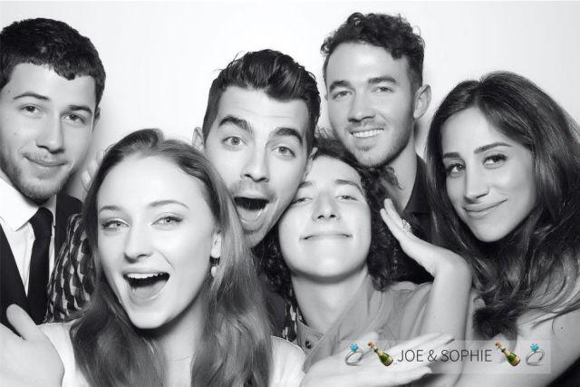 Tenemos fotos de la fiesta de compromiso de Joe Jonas y Sophie Turner
