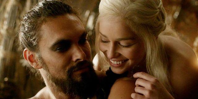 El perfecto reencuentro entre Khal Drogo y Daenerys
