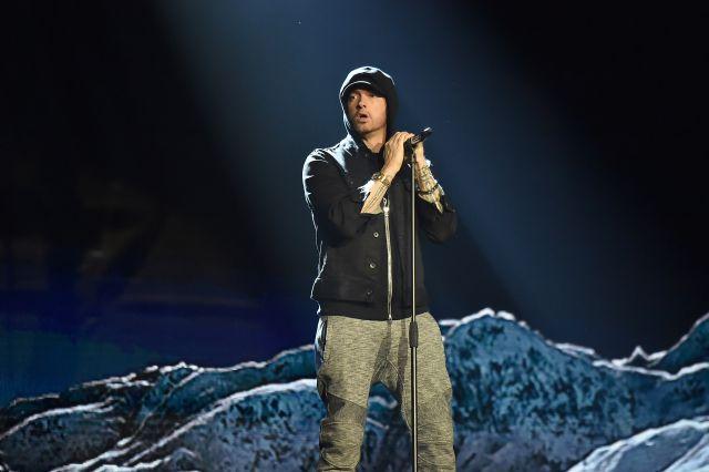 Eminem regresó a la música con Beyoncé y Ed Sheeran