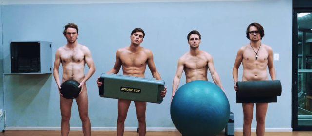 En París se inauguró el primer gimnasio nudista del mundo
