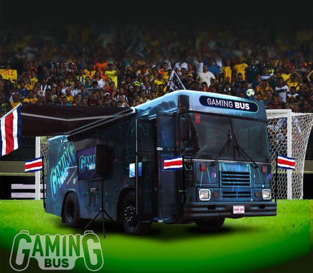 Llegó al país el primer bus de videojuegos