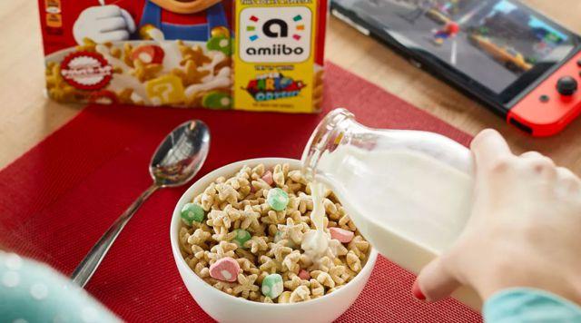¡Super Mario tendrá su propio cereal!