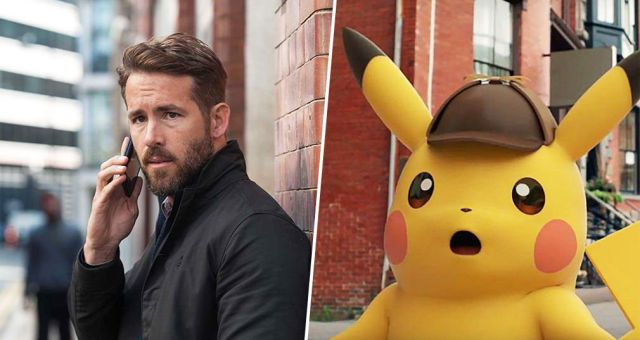 Ryan Reynolds interpretará a Pikachu