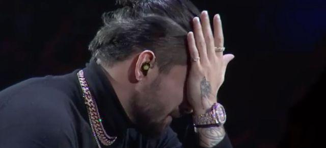 ¿Por qué Maluma lloró en su último concierto?