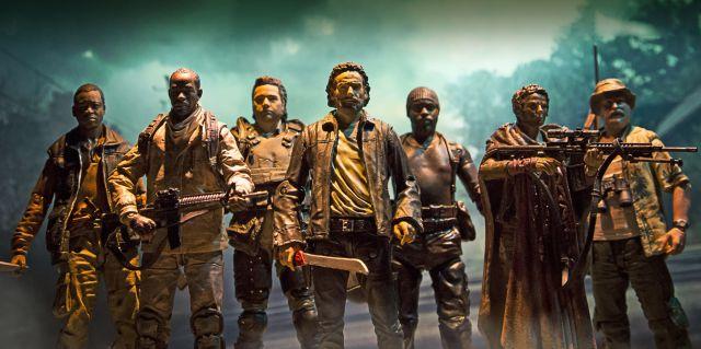 Fans de 'The Walking Dead' recogen firmas para despedir al encargado de la serie