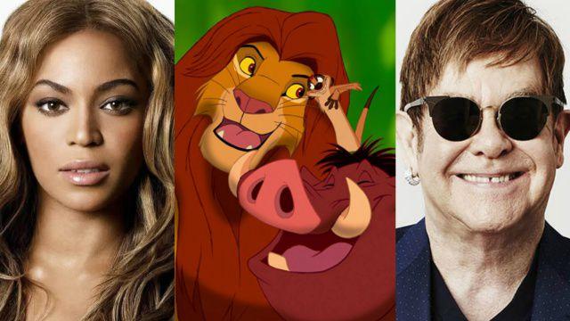 Elton John y Beyoncé trabajan en una nueva canción para 'El Rey León'