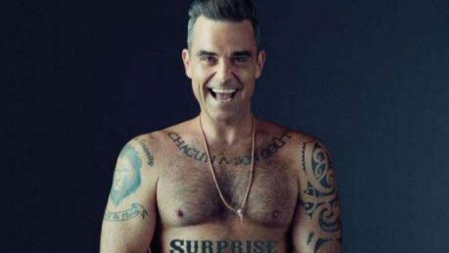 Robbie Williams asegura que vió un ovni cerca de su cabeza