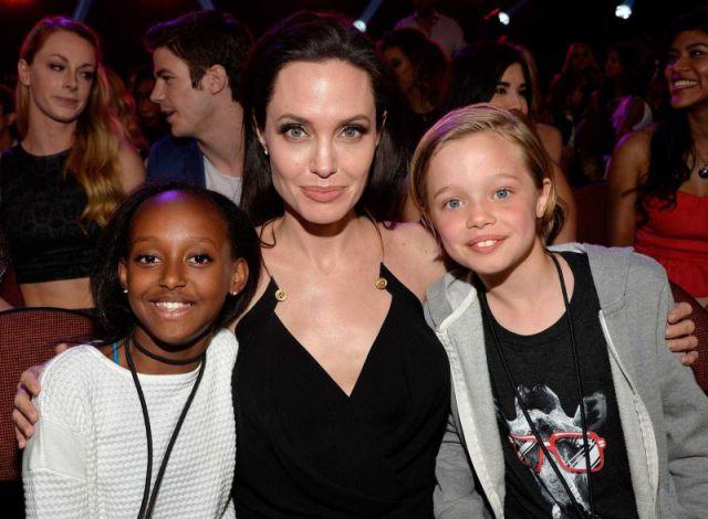 Hija de Angelina Jolie y Brad Pitt inició proceso para cambiar de sexo