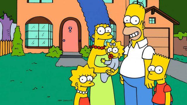 Si Los Simpson envejecieran tendrán esta edad