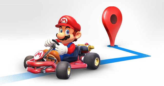 Mario Bros. lo acompañará en Google Maps