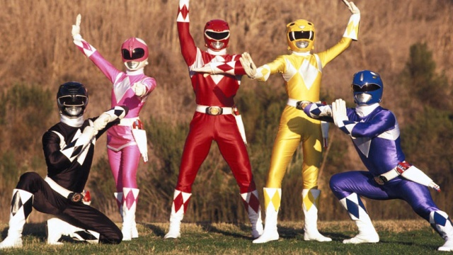 ¡Morfosis amigos! Hasbro compra a los Powers Rangers