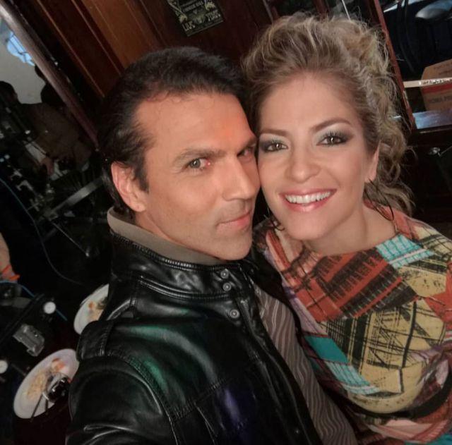 Pablo Rodríguez y Viviana Calderón: