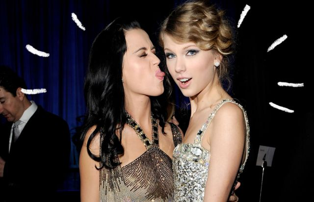 Taylor Swift y Katy Perry hicieron las paces