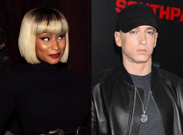 Eminem rompió el silencio sobre su relación con Nicki Minaj