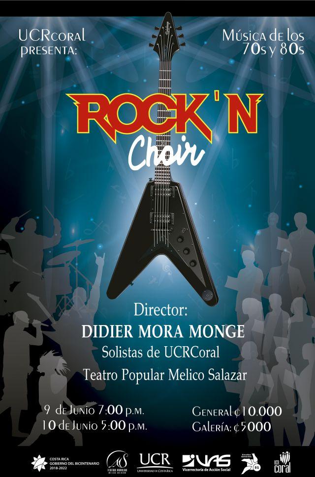 El Teatro Popular Melico Salazar albergará el espectáculo de Rock-N-Choir