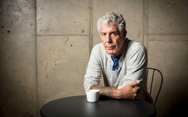 Muere el famoso chef Anthony Bourdain
