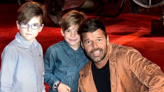 A Ricky Martin le gustaría que sus hijos