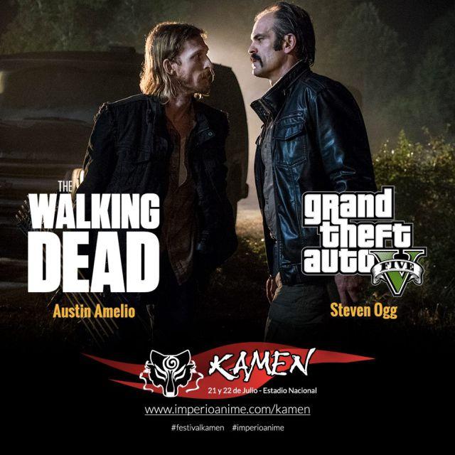 Dos de los actores de 'The Walking Dead' visitarán el país