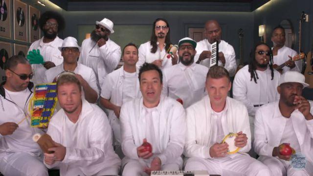 Los Backstreet Boys regresaron para hacer de las suyas con Jimmy Fallon