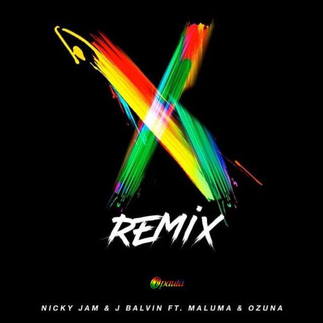 Así suena 'X Remix' de Maluma, Ozuna, Nicky Jam y J Balvin