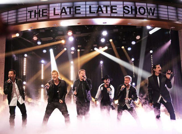 James Corden fue el invitado especial de los 'Backstreet Boys' en Las Vegas