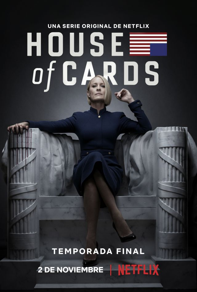 'House Of Cards' regresa en noviembre a Netflix