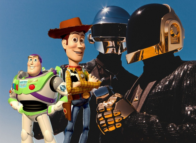 Daft Punk estará a cargo del soundtrack de Toy Story 4