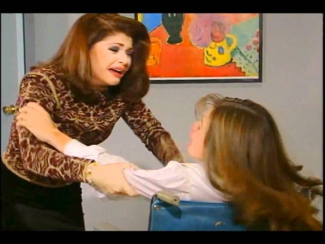 Soraya Montenegro recreó su escena más famosa 23 años después