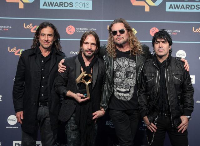 Maná será homenajeado en el Grammy Latino