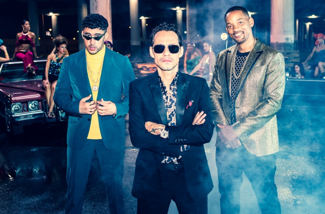 Will Smith celebra 50 años con canción junto a Marc Anthony y Bad Bunny