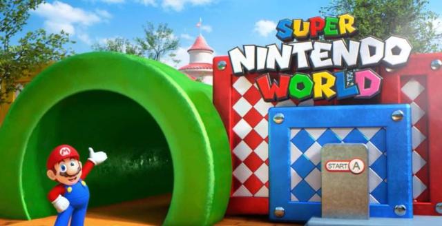 Así será Nintendo Land, el parque de diversiones de Mario Bros y compañía