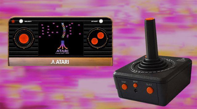 ¡Tomen mi dinero! Atari presentó 2 consolas portátiles retro