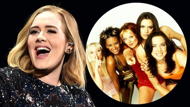 La divertida foto con la que Adele celebró la reunión de Spice Girls
