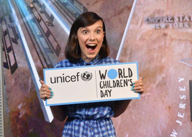 Millie Bobby Brown de 'Stranger Things' defenderá derechos de la niñez