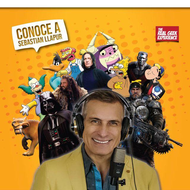 Actor de doblaje que le da vida a Marcus Fenix, Darth Vader y Krusty el payaso estará en Costa Rica