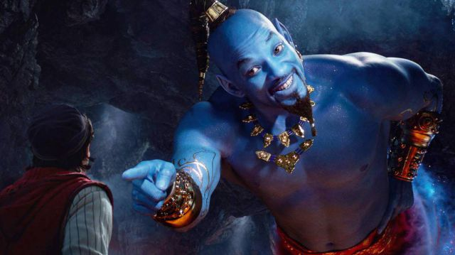 Will Smith aparece como 'El Genio' en el nuevo tráiler de 'Aladdin'