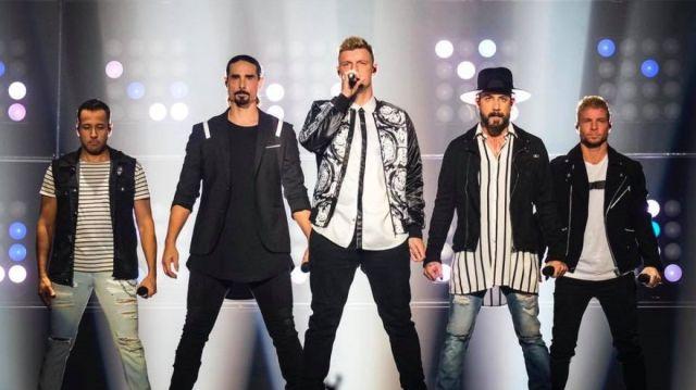 Los Backstreet Boys enloquecieron a todos en el Festival Viña del Mar