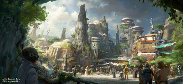 ¡El parque de diversiones de Star Wars ya tiene fecha de estreno!