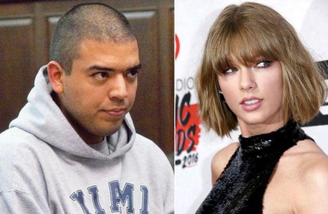 El acosador de Taylor Swift atacó de nuevo y fue detenido