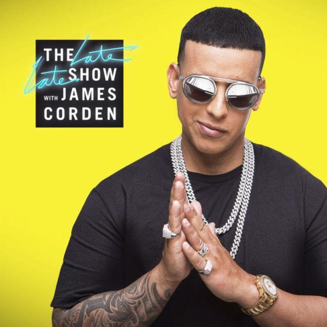 Daddy Yankee tendrá la primera presentación musical en español en 'The Late Late Show con James Corden'
