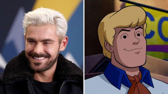 Zac Efron será 'Fred' en la nueva película de 'Scooby Doo'