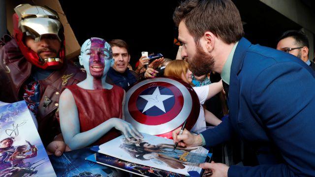 Así fue el estreno mundial de 'Avengers: Endgame'