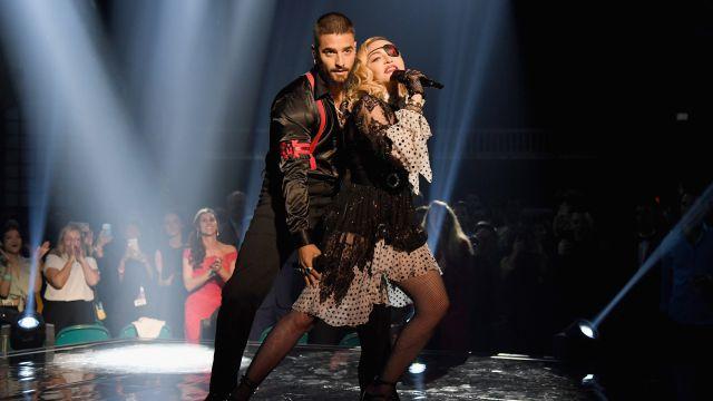 El show de hologramas de Maluma y Madonna costó $5 millones