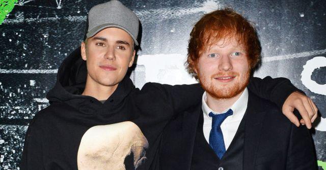 Ed Sheeran y Justin Bieber cantarán juntos en el tema