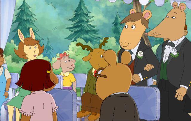 Censuran capítulo de la serie infantil 'Arthur' por tener una boda gay