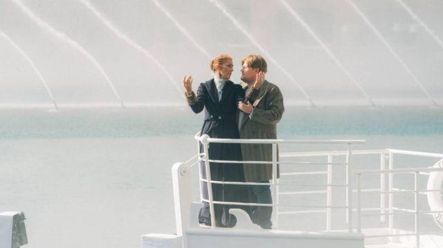 Céline Dion y James Corden recrean la icónica escena de