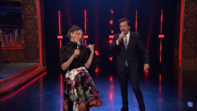 Millie Bobby Brown es la reina del karaoke