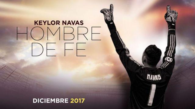Película de Keylor Navas se estrenará en Netflix