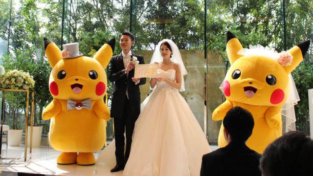¡Ya podés tener una boda temática de Pokémon!